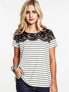 Lacey Little Thing Striped Top