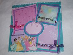 scrapbook page princess - Google Search