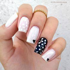 Cute Acrylic Nails, Acrylic Nail Designs, Cute Nails, Pretty Nails, Joy Nails, Beauty Nails, Manicure Colors, Nail Manicure, Classy Nails