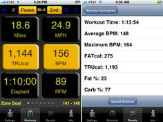 iphone fitness tracking app