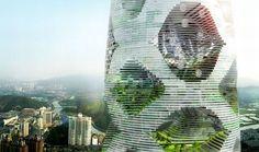 s aos moradores. Para manter as plantas sempre verdes, um sistema de reciclagem se apropria da água da chuva para regar e cultivar as partes naturais da construção. O Logistic City ainda é apenas um projeto conceitual e não há previsão de sua implantação ou do início de suas obras na cidade de Shenzhen.   Visual do Logistic City      Área 42: como fazer um carregador solar para o seu celular [vídeo].