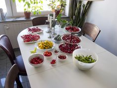 First big harvest of chili for 2014. Varieties: Corbaci (annuum), Hot Lemon (baccatum), Aji Cristal (baccatum), Suave Red (chinense), Red Habanero (chinense), Onza (annuum) and Orozco (annuum).