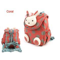 2016新しいファッション動物スタイルスクールバッグかわいい3dウサギぬいぐるみ巾着バックパック子供のランドセル幼稚園バッグ