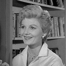 Barbara Billingsley, aka  June Cleaver on the television series Leave It to Beaver