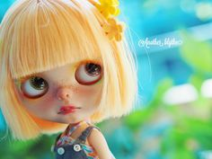 OOAK Custom Blythe Doll by Another Blythe Little by AnotherBlythe