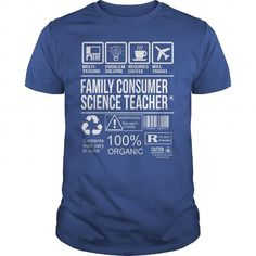 Awesome Tee For Family Consumer Science Teacher T Shirts, Hoodies. Check Price ==► https://www.sunfrog.com/LifeStyle/Awesome-Tee-For-Family-Consumer-Science-Teacher-104554128-Royal-Blue-Guys.html?41382