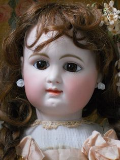 """~~~ Beautiful French Bisque BeBe by Rabery and Delphieu ~~~24"""" Head Mark: R 3 D, CIRCA 1885"""
