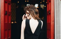 Ashton Saunders in the Camilyn Beth 'Amelia' Gown | Breakfast at Tiffanys look | Formal Gown Look