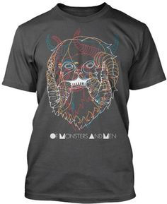Of Monsters And Men Multi Monster Slim Fit T-Shirt for only $17.95