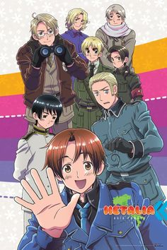 Hetalia: Axis Powers Anime FRA-Sub