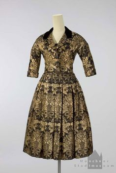 Cocktail dress | House of Dior | 1956 | silk | Munich City Museum | Inventory #: T-99/1