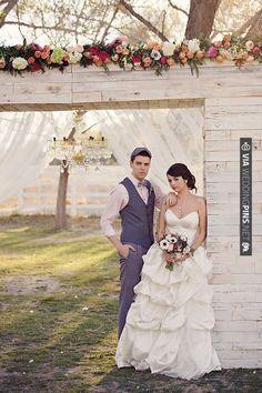 vintage wedding alter ideas | CHECK OUT MORE IDEAS AT WEDDINGPINS.NET | #weddings