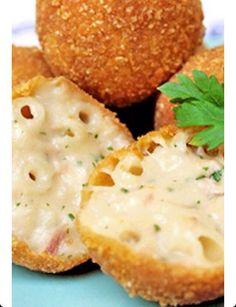 ✨Fried Macaroni Cheese Bites✨ #Food #Drink #Trusper #Tip