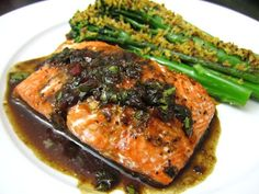 ... & Seafood on Pinterest | Poached salmon, Salmon and Salmon recipes