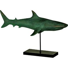 Figurines define the personality. Little figurines in the room go a long in defining what you like and who you are. Figurines have been popular since ages. Turtle Figurines, Metal Figurines, Fish Sculpture, Sculptures, Crestview Collection, Art Stand, Wood Fish, Balloon Dog, Fish Art