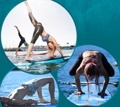Yoga and Stand-Up Paddle-Boarding #miss west coast