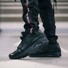 e5e3cb6f37f4 Go Stealth mode in the All Black Nike Air Max 90 Ultra 2.0 Essentials - A