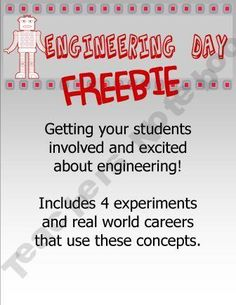engineering experiments...with career descriptions