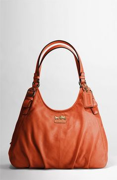 coach leather handbags outlet d7r0  COACH MADISON LEATHER MAGGIE SHOULDER BAG  Nordstrom