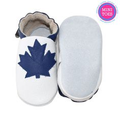 Toronto Maple Leafs Inspired Hand Made Soft sole by minitoes Toronto Maple Leafs, Babies Stuff, Baby Shoes, Inspired, Trending Outfits, Unique Jewelry, Handmade Gifts, Kids, Inspiration