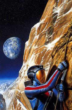 Bob Eggleton - High climber