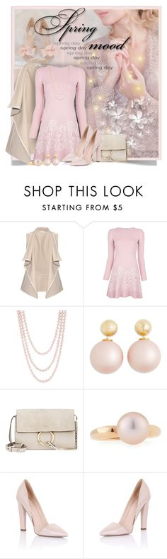 """""""Spring Mood"""" by petri5 ❤ liked on Polyvore featuring Vince, Valentino, Henri Bendel, Chloé, Belpearl, Lipsy and Paper Dolls"""