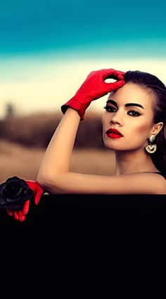 elegance in gloves  .. X ღɱɧღ ||                                                                                                                                                                                 More