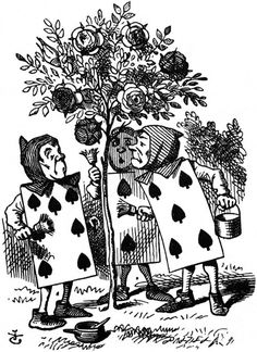John Tenniel `What for?' said the one who had spoken first.