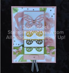 Stamping With Dawn: Waterfall Card - Stampin' Up!