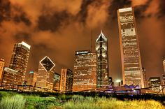 Fields of Gold by Trey Ratcliff. Chicago, IL.