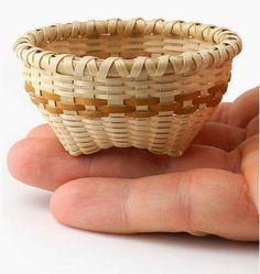 JASkets Blog: 2014 JoAnn Kelly Catsos Workshop - Miniature Friendship Basket