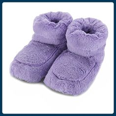 5ae4874f8a3 Is there anything better than snuggly feet after a tough day  You can  actually microwave these super fluffy boots for even more snuggliness.