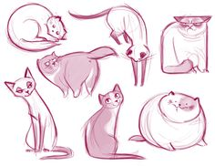 Daily Cat Drawings - Gato 2
