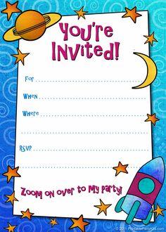 611 melhores imagens de free printables parties invitation em