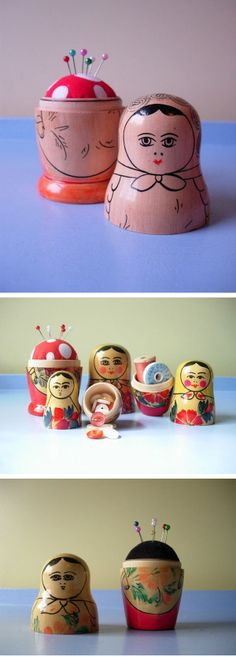 love this idea, but where to put it? would fit into both our russian doll and pin cushion collections!