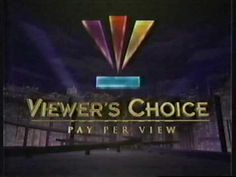 Pay Per View, Broadway Shows