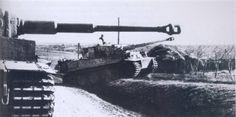 .Grossdeutschland Tiger, III.Abteilung PanzerRegiment Grossdeutschland, fighting near Romanian border in early winter 1944.
