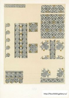 Gallery.ru / Фото #5 - 32 - Fleur55555 Folk Embroidery, Pattern Books, Diy And Crafts, Cross Stitch, Ale, Quilts, Inspiration, Textile, Folklore