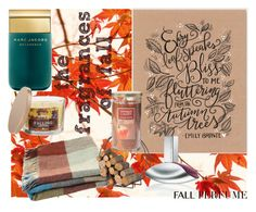 """""""Contest: the fragrances of fall"""" by kimberly-schneider ❤ liked on Polyvore featuring beauty, Marc Jacobs, SONOMA Goods for Life, Toast, Calvin Klein, Yankee Candle, fallperfume and thefragrancesoffall"""