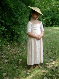 child's colonial clothing