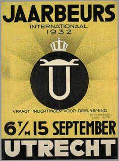 Jaarbeurs Utrecht Internationaal 1932 : 6 t/m 15 september