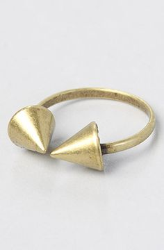 The Spiked Punch Ring in Gold by *Accessories Boutique #MissKL #WinYourPin
