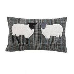 Sheep Grey Cushion