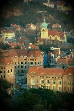 Qingdao, Shandong,China. European style buildings built when the Germans occupied the city and introduced beer production.