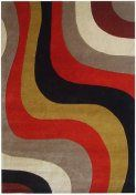 Rodeo Drive RD151B Hand Tufted Wool Area Rug #selectrugs $221.31