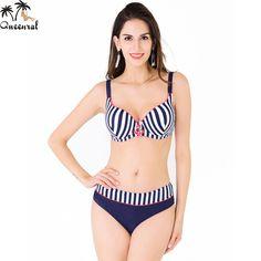 e05f7bec530a4 plus size swimwear Large Size Swimsuit bikini swimwear women female swimwear  beach wear bathing suit women bikini set plavky