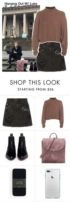 """Hanging Out W/ Luke"" by aileen2704 ❤ liked on Polyvore featuring Marc Jacobs, Acne Studios, Chloé, J.Crew, CLUSE, 5sos, lukehemmings, 5secondsofsummer and 5sosoutfits"