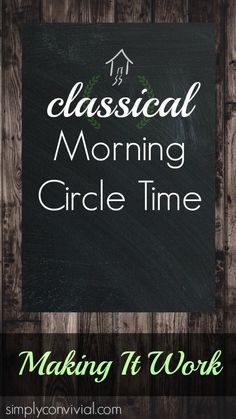 Simply Convivial » classical homeschooling, practical homemaking