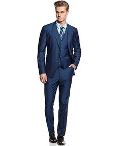 American Rag 3 Piece Suit, Sheen Suit - Men - Macy's