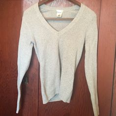 Gray ribbed top price firm Comfortable and forgiving Old Navy Tops